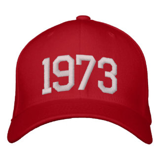 1973 Year Embroidered Baseball Hat