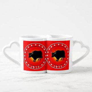1973 Year of the Ox Couples Coffee Mug