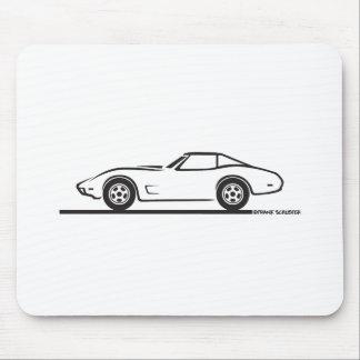 1974 1975 1976 1978 Chevrolet Corvette Hard Top T Mouse Pad