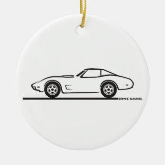 1974 1975 1976 1978 Chevrolet Corvette Hard Top T Ornaments