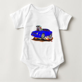 1974-76 Firebird Blue Car Baby Bodysuit