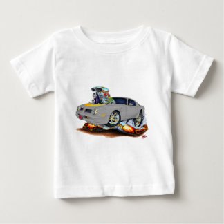 1974-76 Trans Am Grey Car Baby T-Shirt