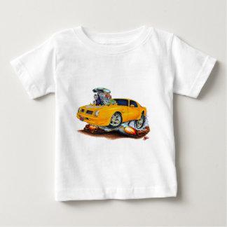 1974-76 Trans Am Orange Car Baby T-Shirt