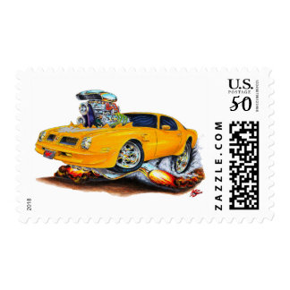 1974-76 Trans Am Orange Car Postage