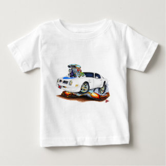 1974-76 Trans Am White-Blue Car Baby T-Shirt