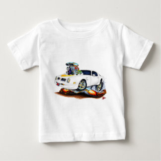 1974-76 Trans Am White Car Baby T-Shirt