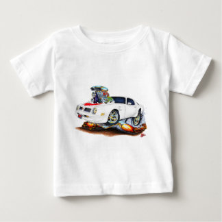 1974-76 Trans Am White-Red Car Baby T-Shirt