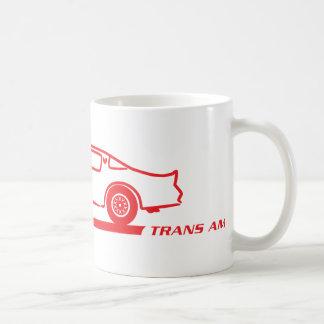 1974-78 Trans Am Red Car Coffee Mug