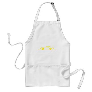 1974-78 Trans Am Yellow Car Adult Apron