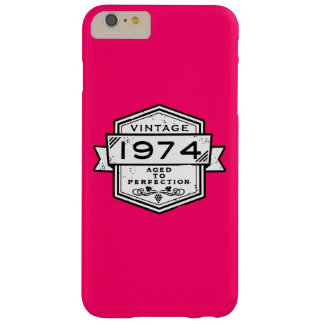 1974 Aged To Perfection Barely There iPhone 6 Plus Case