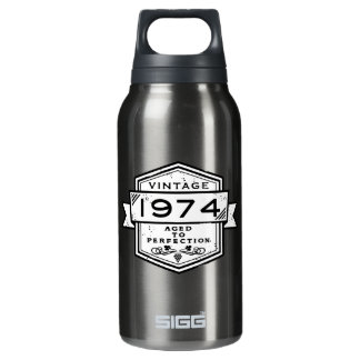 1974 Aged To Perfection Insulated Water Bottle
