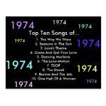 1974 canciones tarjetas postales