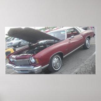 1974 Chevrolet/Chevy Monte Carlo Poster