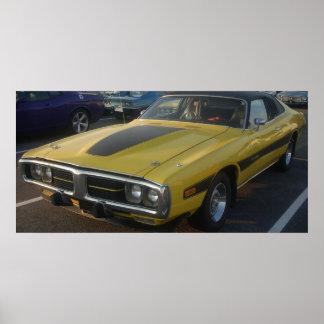 1974 Dodge Charger Hard Vinyl Top Print