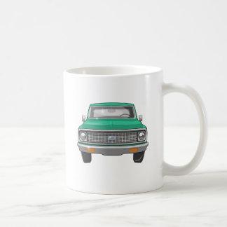 1974 Green Chevy Truck Coffee Mug