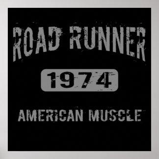 1974 Road Runner American Muscle Poster
