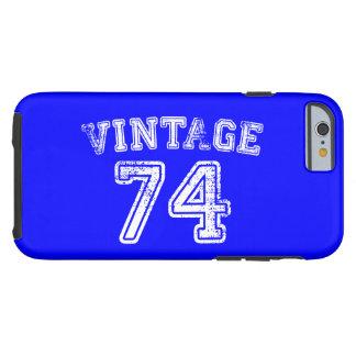 1974 Vintage Jersey Tough iPhone 6 Case