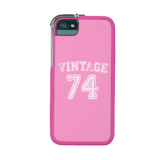 1974 Vintage Jersey Cover For iPhone 5/5S