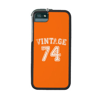 1974 Vintage Jersey iPhone 5 Cover