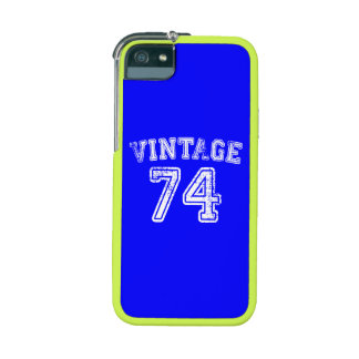 1974 Vintage Jersey iPhone 5/5S Case