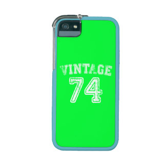1974 Vintage Jersey iPhone 5/5S Cover
