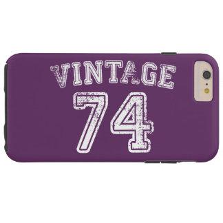 1974 Vintage Jersey Tough iPhone 6 Plus Case
