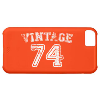 1974 Vintage Jersey Cover For iPhone 5C