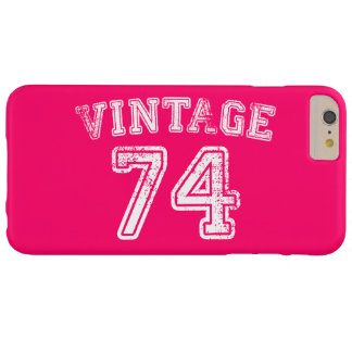 1974 Vintage Jersey Barely There iPhone 6 Plus Case
