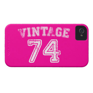 1974 Vintage Jersey iPhone 4 Case-Mate Cases