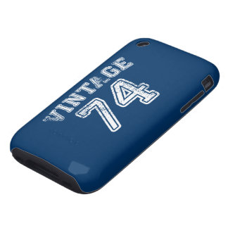 1974 Vintage Jersey iPhone 3 Tough Cover