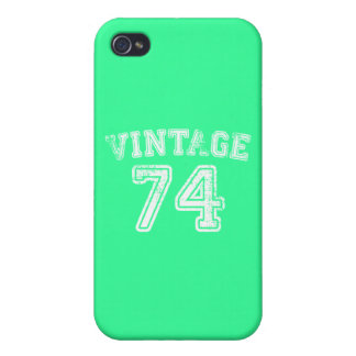 1974 Vintage Jersey iPhone 4/4S Cover