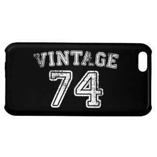 1974 Vintage Jersey Case For iPhone 5C