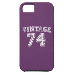1974 Vintage Jersey iPhone SE/5/5s Case