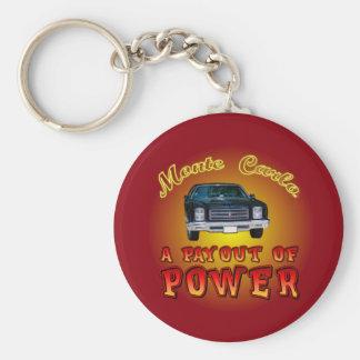 1975 Chevy Monte Carlo. Basic Round Button Keychain