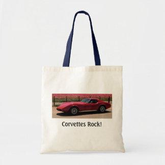 1975 Corvette - Corvettes Rock Canvas Bag