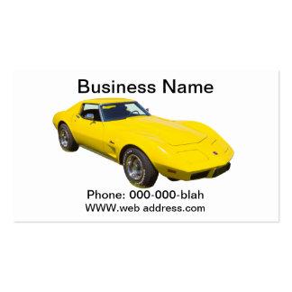 1975 Corvette Stingray Sports Car Business Cards
