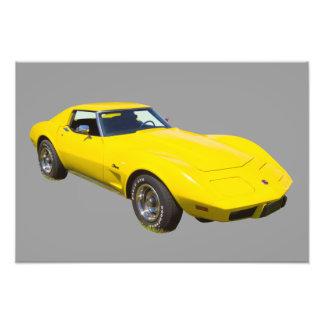 1975 Corvette Stingray Sports Car Photo