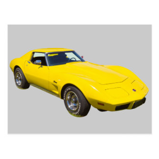 1975 Corvette Stingray Sports Car Postcard