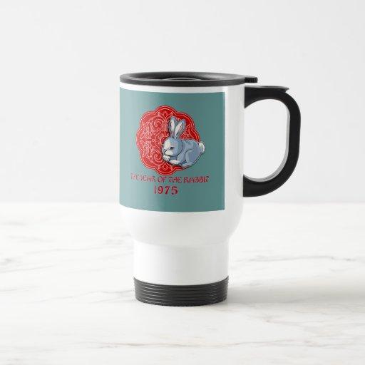 1975 el año de los regalos del conejo tazas de café