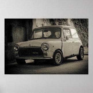 1975  Innocenti Mini Cooper 1300 Poster