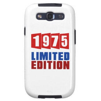 1975 Limited Edition Galaxy S3 Cover