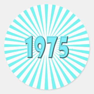 1975 ETIQUETA REDONDA
