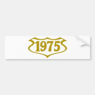 1975 shield.png pegatina para auto
