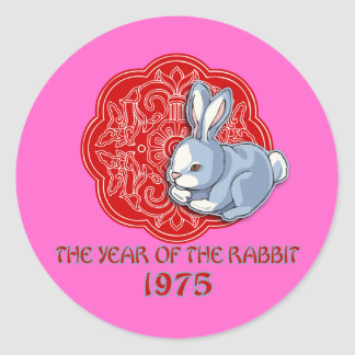 1975 The Year of the Rabbit Gifts Sticker