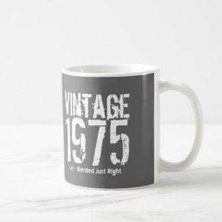 1975 Vintage Year or Any Birthday Right Blend M2Z Coffee Mug
