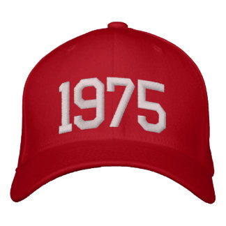 1975 Year Embroidered Baseball Cap