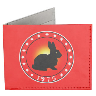 1975 Year of the Rabbit Tyvek Wallet