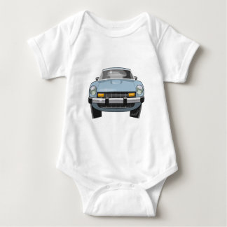 1976 280Z Front View Baby Bodysuit