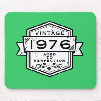 1976 Aged To Perfection Funny Birthday Gift Mouse Pad