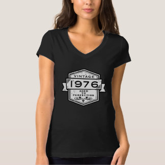 1976 Aged To Perfection Funny Clothing T-Shirt